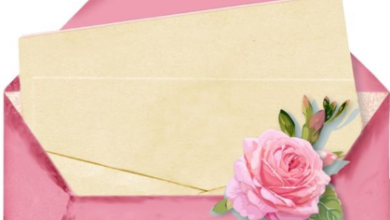 بطاقات دعوة جاهزة للكتابة عليها word