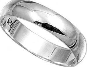 تلميع خاتم الفضة